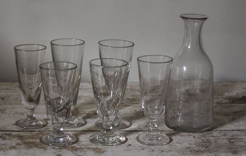 Large Collection French Glasses