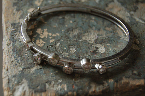 Contemporary Diamond Bracelet
