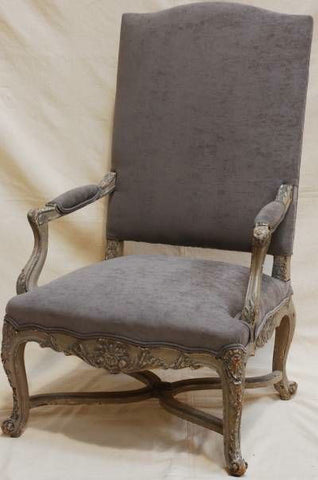 c18th French carved carver.