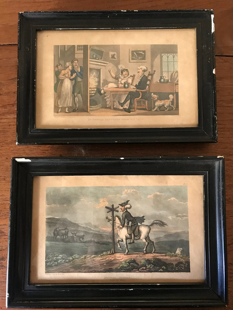 Pair Aquatints