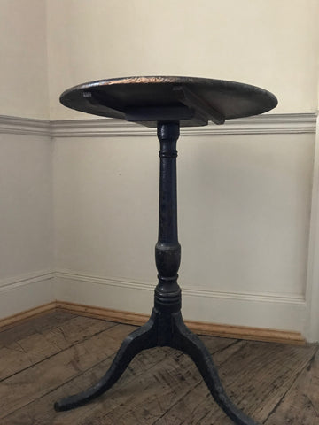 English Painted Pedestal Table