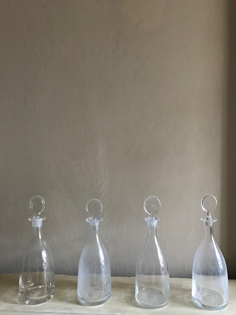 Set of 4 English Decanters