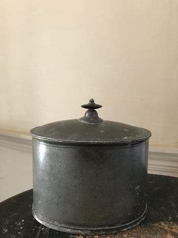 Pewter Tobacco Pot