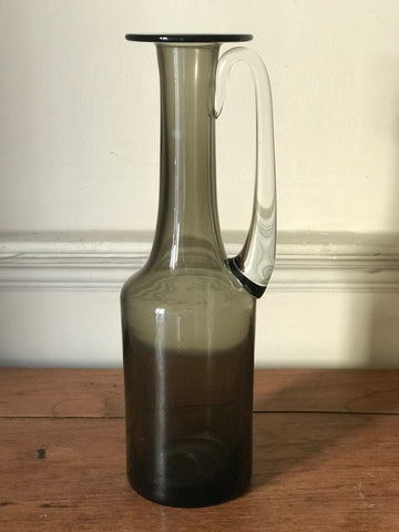 Smoked Glass Jug