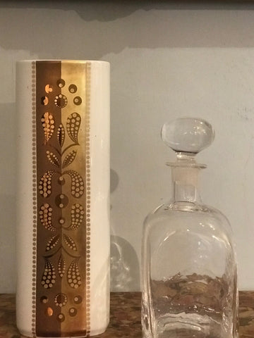 Mid century vase & decanter