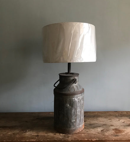 Converted Churn Lamp