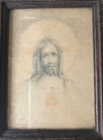 Drawing of Christ