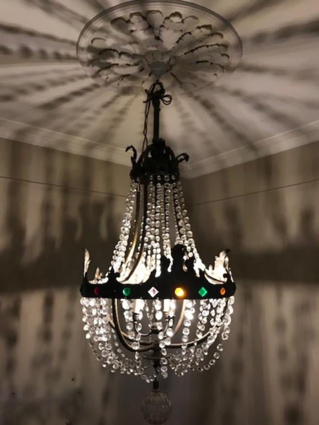 Spectacular French Crystal Chandelier