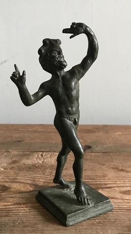 Grand Tour Bronze Satyr