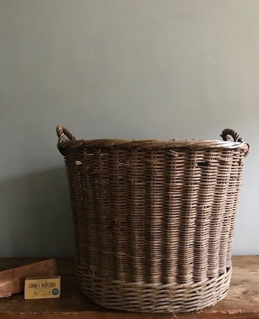 Extra large Wicker Log Basket