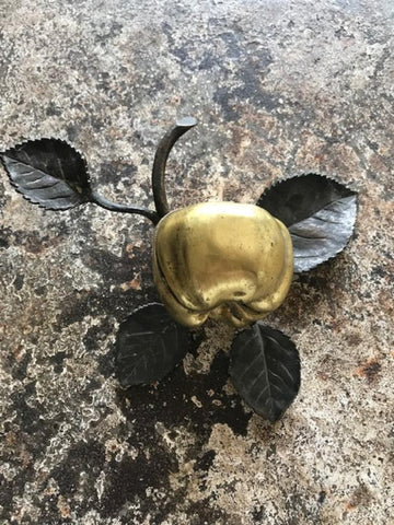 Bronze apple ash tray