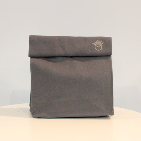 Pineapple Lunch Bag- Grey