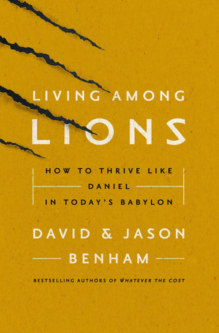 Living Among Lions Autographed Softcover