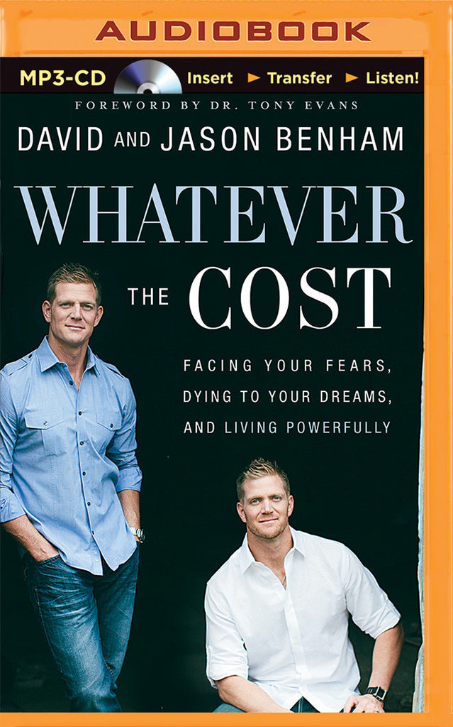 Whatever the Cost Audio Book (MP3 CD)