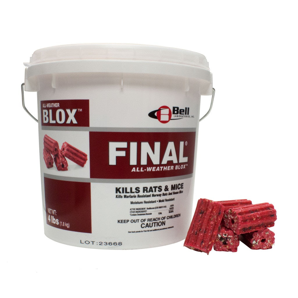 Final Blox Rodenticide 4.1Kg