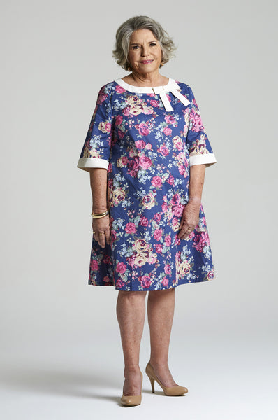 Alice - Summer Day Dress for Senior Women