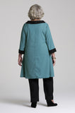 Inez - Senior Womens Functional Dress Teal