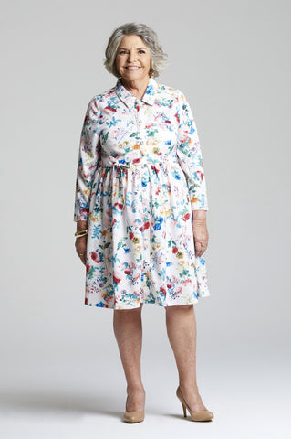Jean - Functional Day Dress for Elderly Women