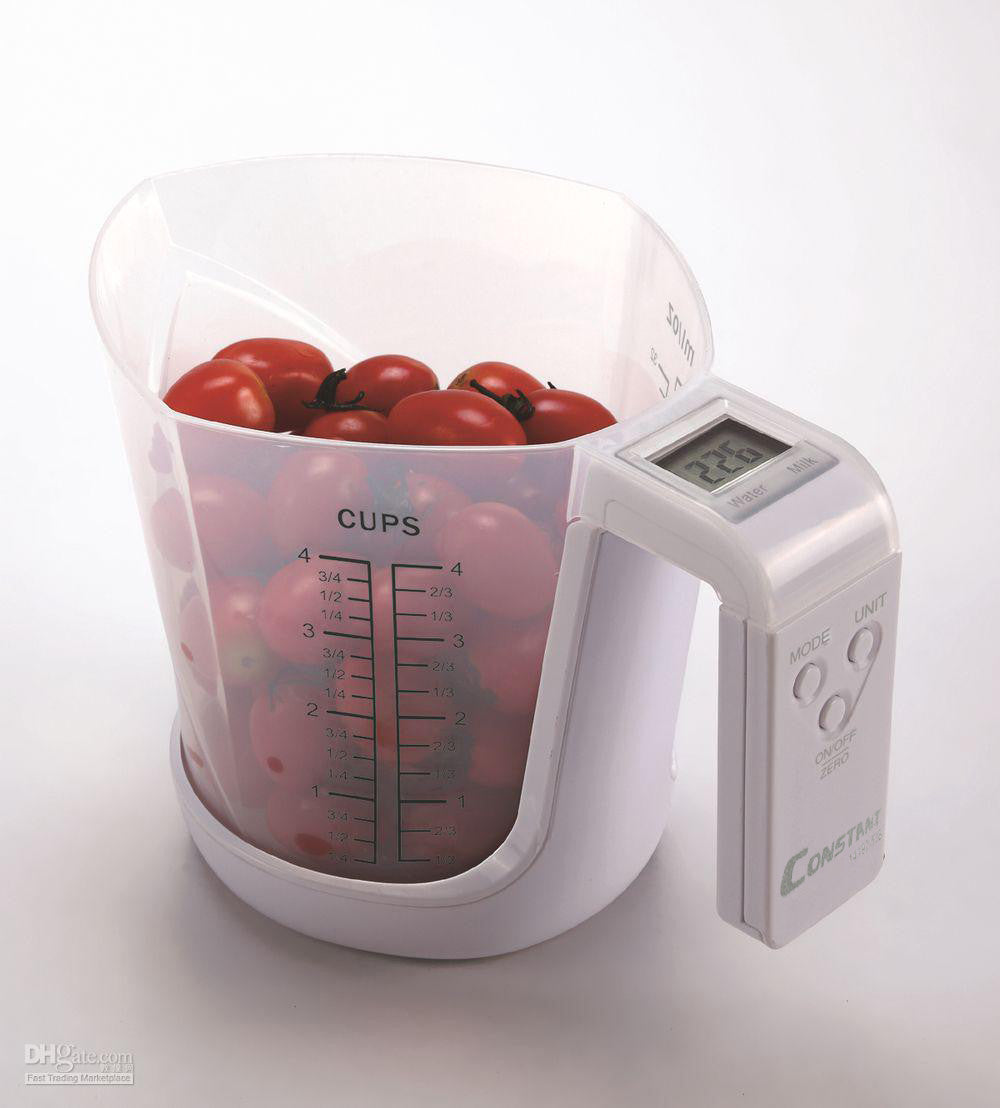 Measuring cup scale - White
