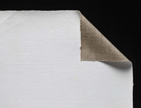 Heavy Universal Primed Linen Stretched Canvas - (Claessens 170)