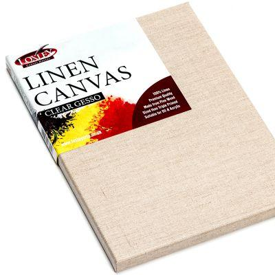 CARTONS - LOXLEY LINEN STRETCHED CANVAS WITH CLEAR GESSO