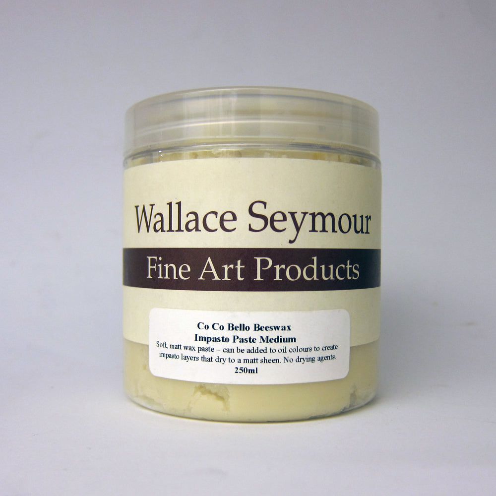 Wallace Seymour : Co-Co Bello Beeswax Impasto Paste Medium