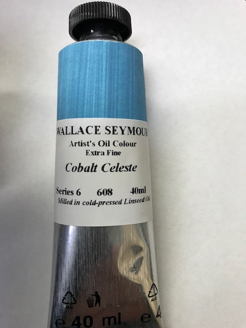 Wallace Seymour Oil Paint: Cobalt Celeste