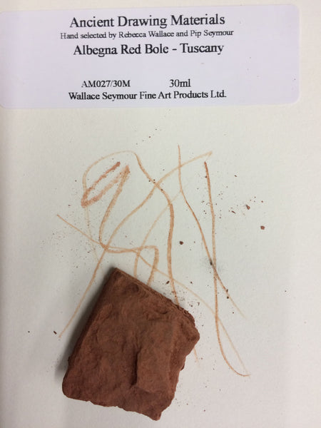 Albegna Red Bole - Tuscany Drawing Stone