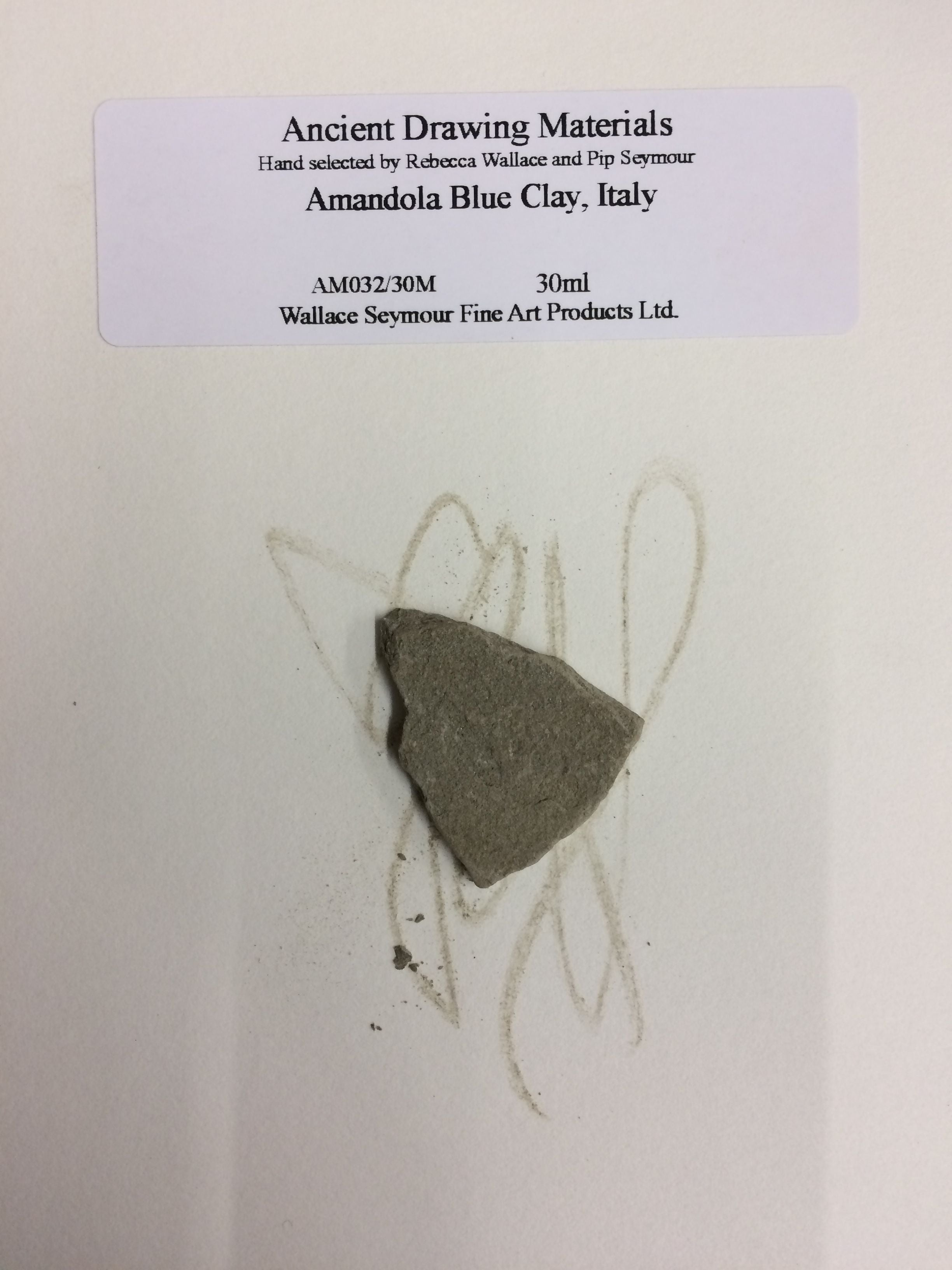 Amandola Blue Clay, Italy Drawing Stone
