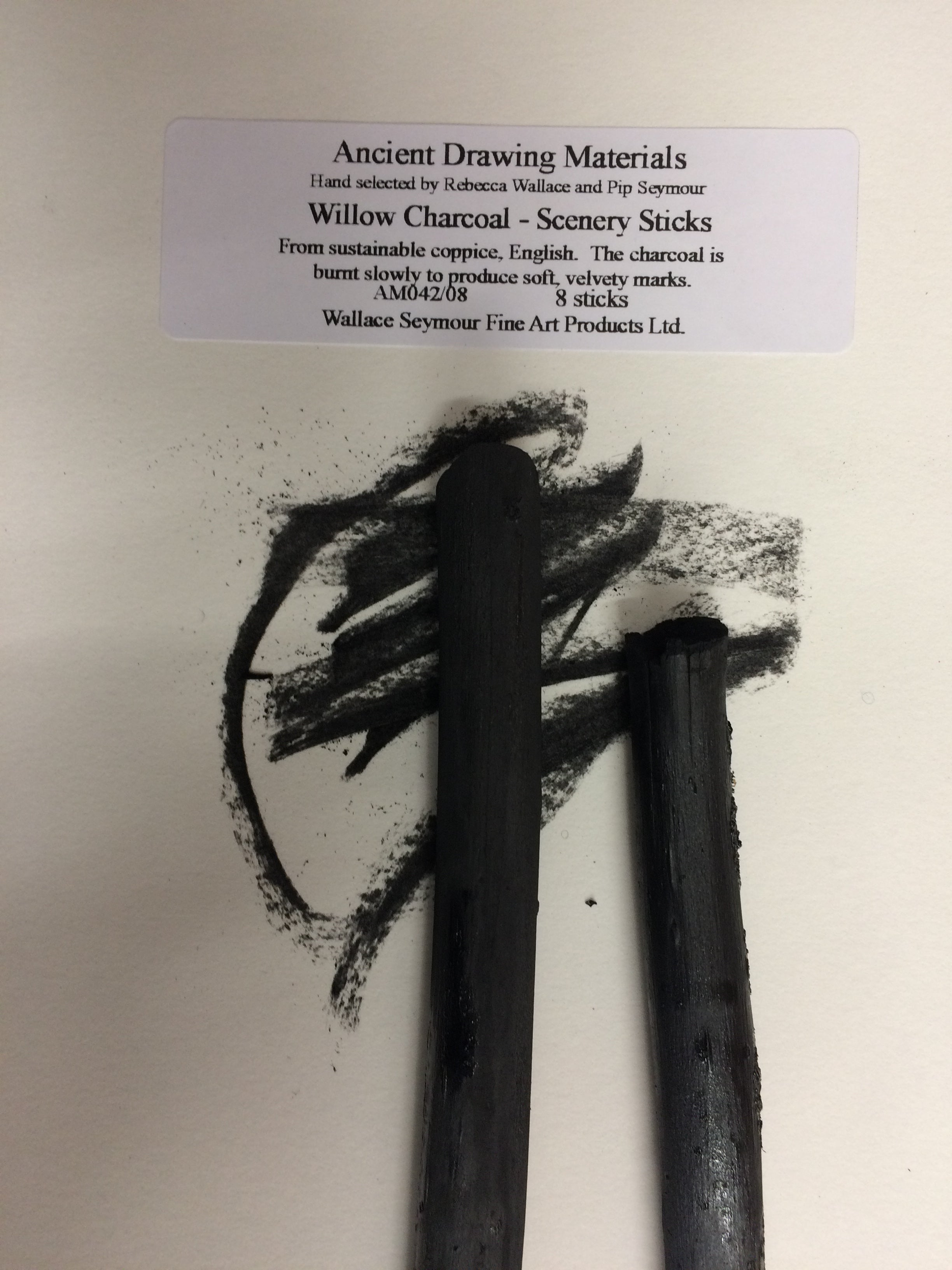 Willow Charcoal - Scenery Sticks