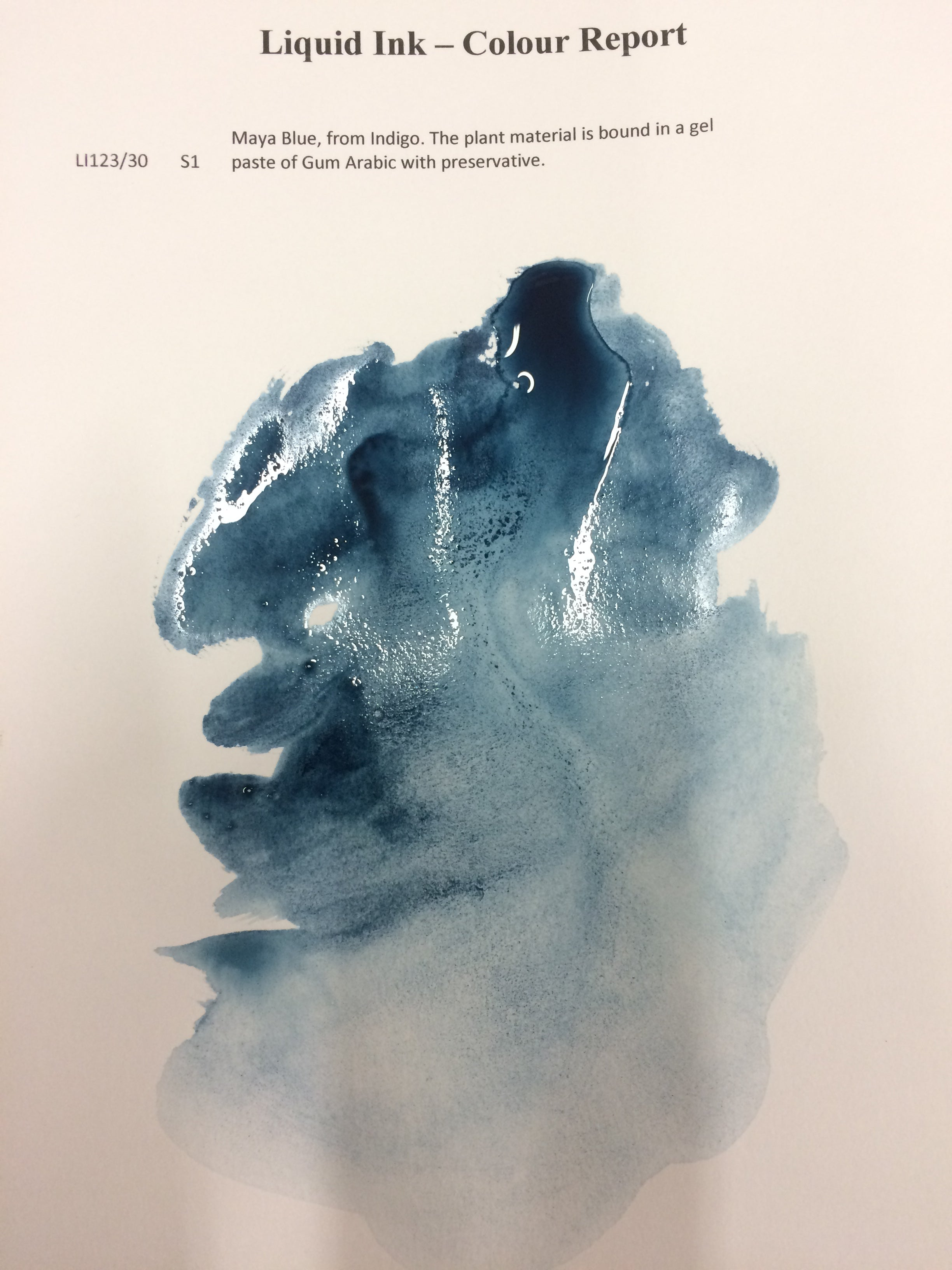 Wallace Seymour Liquid Ink - Maya Blue