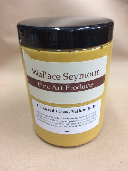 Wallace Seymour : Acrylic Coloured Gesso Yellow Bole