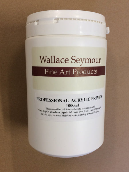 Wallace Seymour : Professional Acrylic Primer
