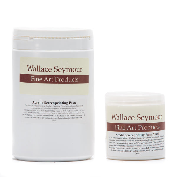 Screenprinting Paste - Wallace Seymour