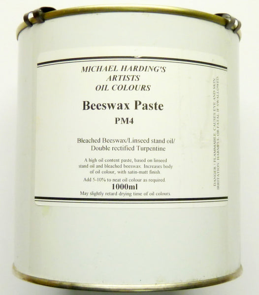 Art Req Michael Harding Beeswax Paste