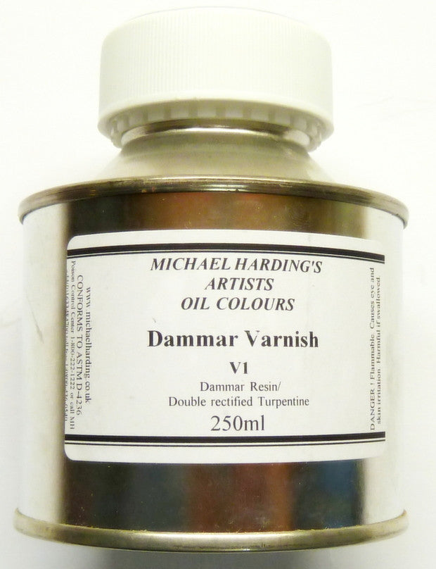 Art Req Michael Harding Dammar Varnish