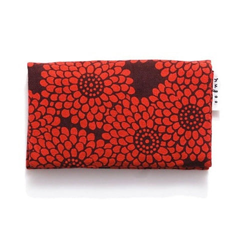 Card Case (Red Chrysanthemum)