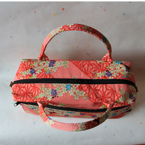 Boston Handbag (Sakura Pink)