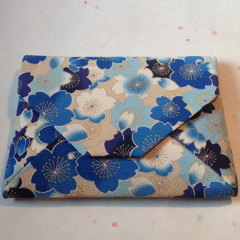 Sukiya Handbag (Romantic Sakura Blue)