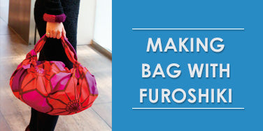 Making bag with Furoshiki