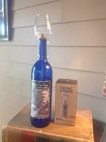 Hurricane Wine Bottle Lamp