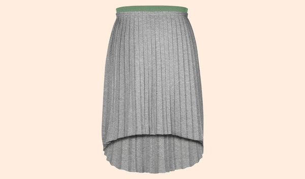 D-PLEATED SKIRT