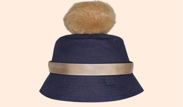 PARIS POM BUCKET HAT<br>SOLD OUT