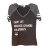 Ladies Every Life Reached and Changed V-Neck