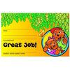 Gopher Buddies Encouragement Certificates (pkg of 5)