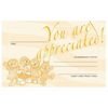 Gopher Buddies Parent/Helper Certificates (pkg of 5)