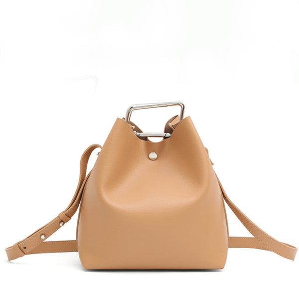 Jessica Bucket Bag - Khaki
