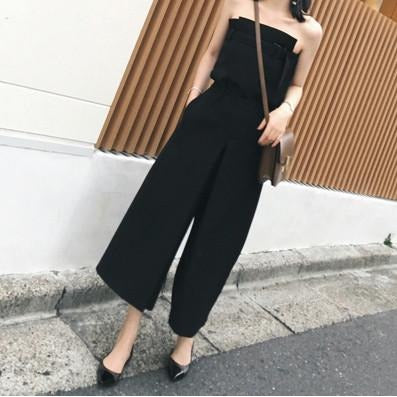 Jean Tube Top - Black