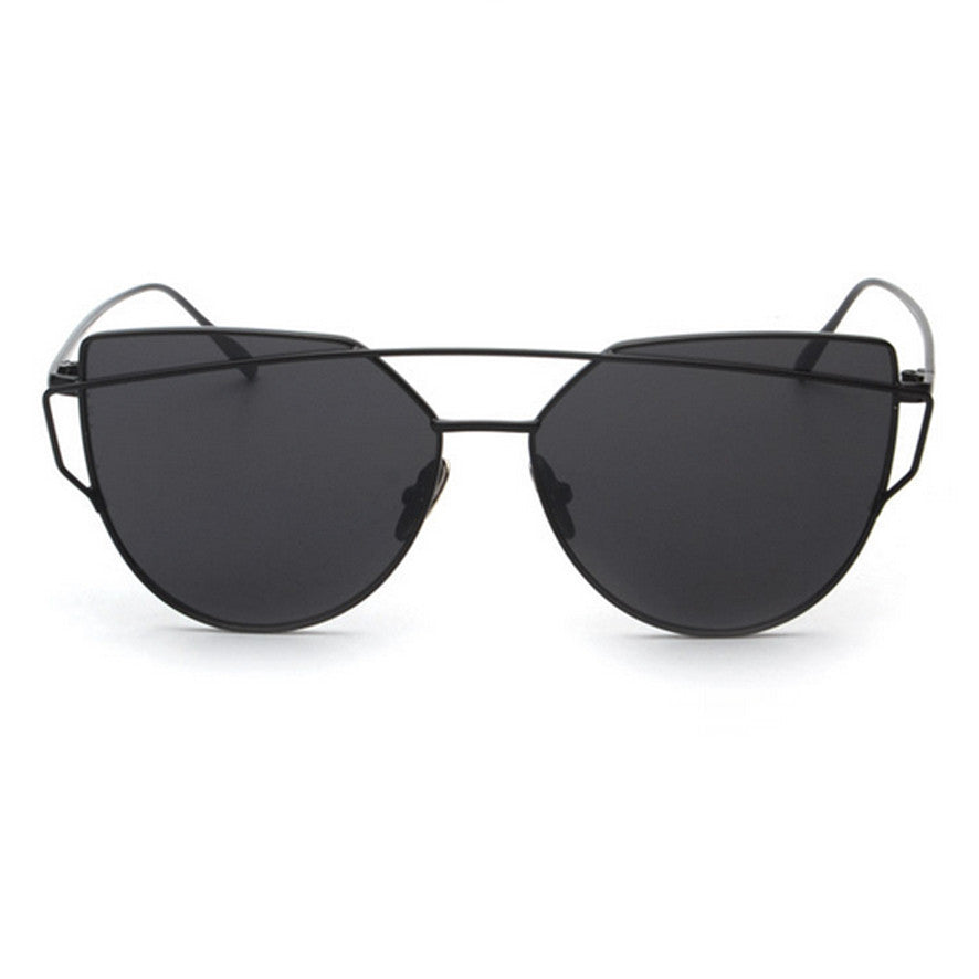 Ainsley Sunglasses - Black Frame with Black Lens