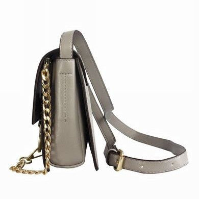 Blanche Crossbody Chain Bag - Grey